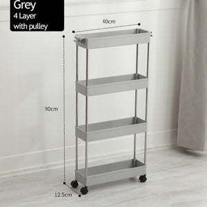 Movable Organizing Shelf