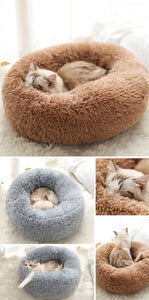 Pet Plush Calming Bed