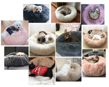 Load image into Gallery viewer, Pet Plush Calming Bed