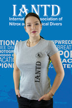 Load image into Gallery viewer, IANTD Agency Logo T-Shirt FRONT