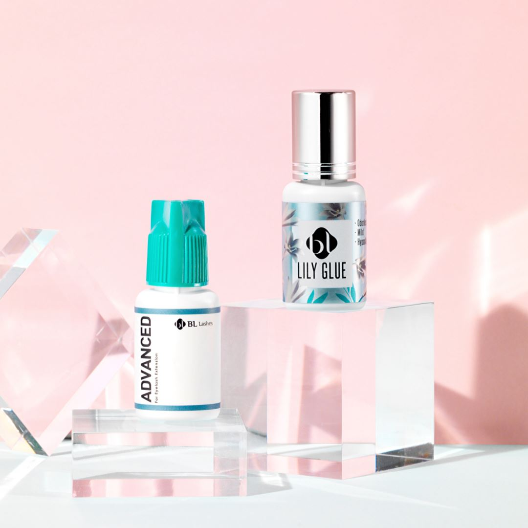 The best eyelash extension glue for sensitive eyes