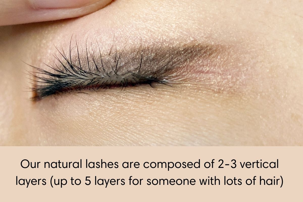 Lash isolation by layer