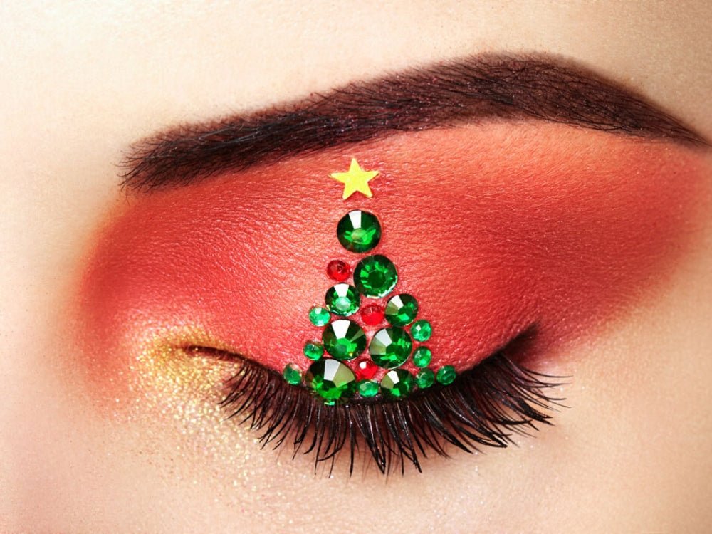 lash extension styling for festive season