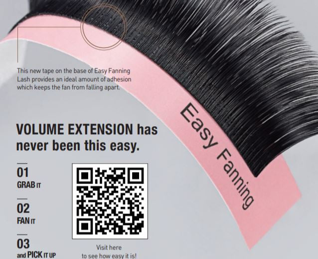 BL Blink easy fanning lash extensions for volume lashes