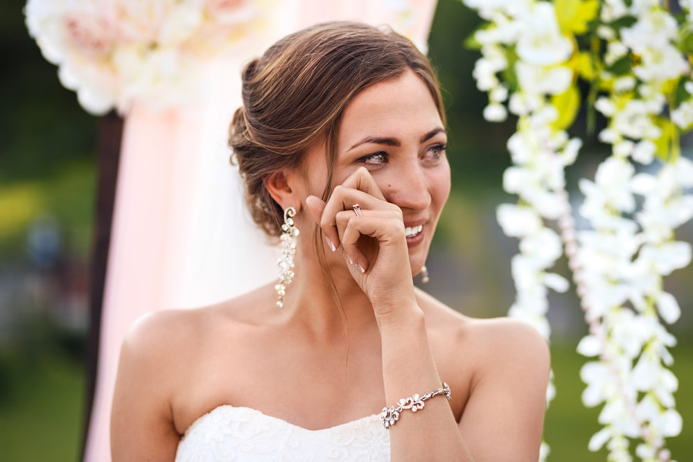 Bottom Lash Extensions is great for brides
