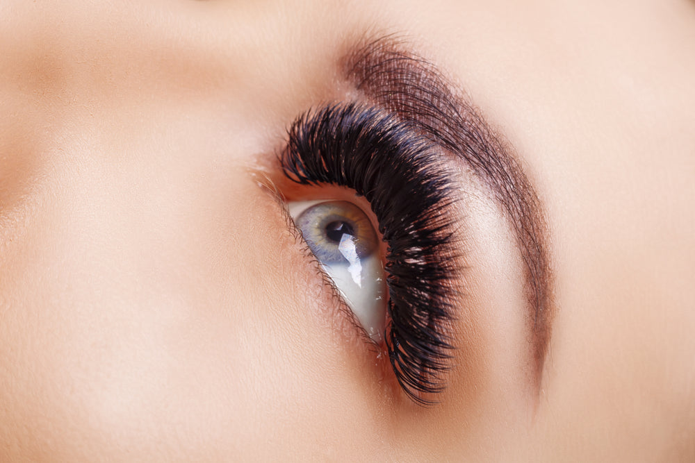 Bottom Lash Extensions is great for mega volume clients