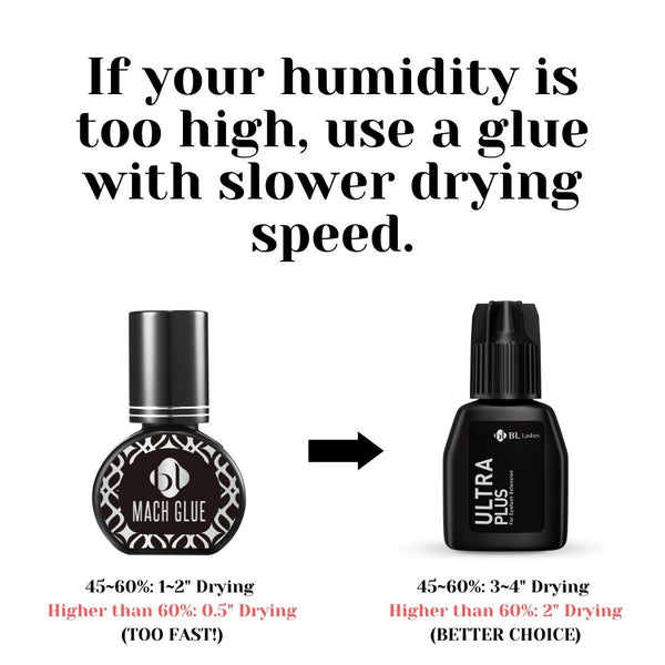 How to choose Eyelash Extension Glue for High Humidity
