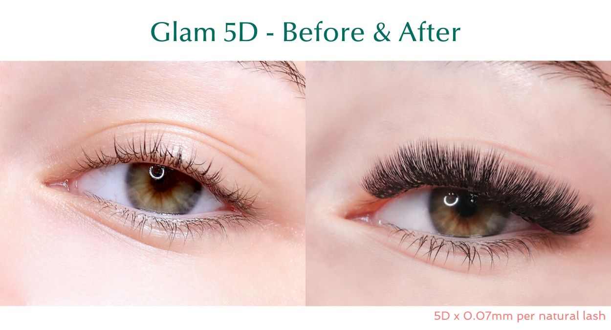 Glam 5D Premade lash fans by BL Blink Lashes - Eyelash extension supplies