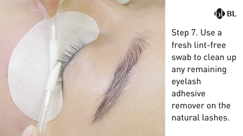 How to remove eyelash extensions by blink bl lashes