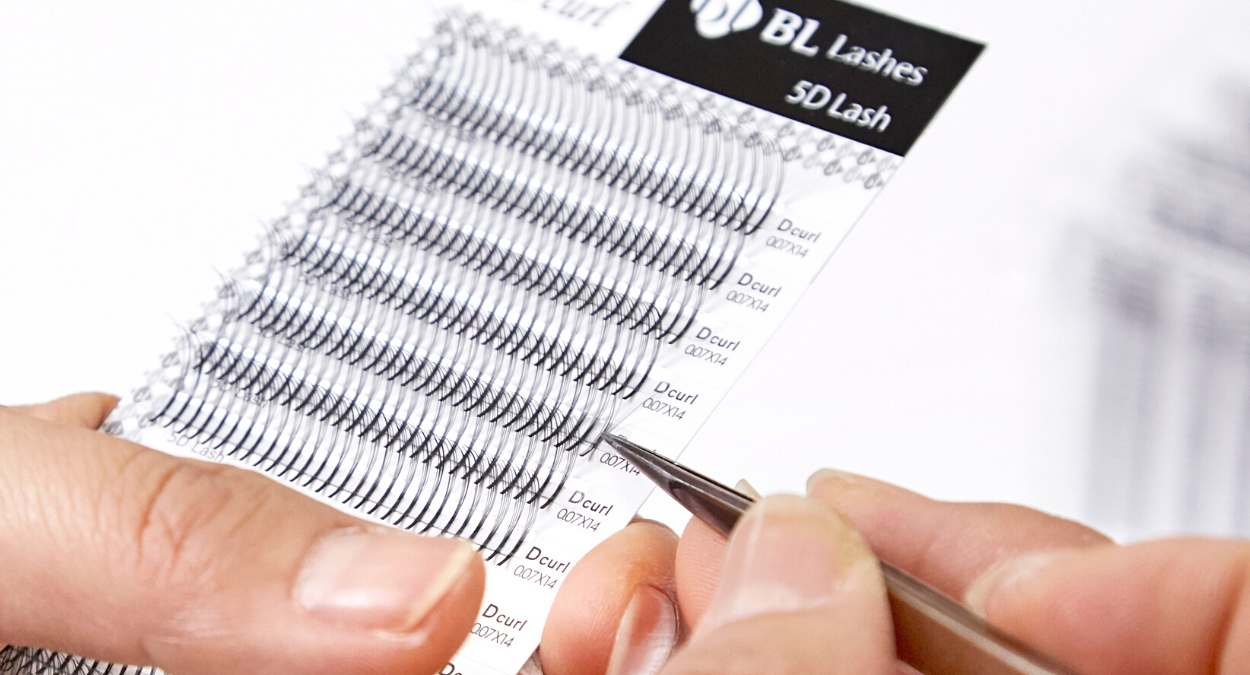 Premade lash fans by BL Lashes - Eyelash extension supplies wholesale