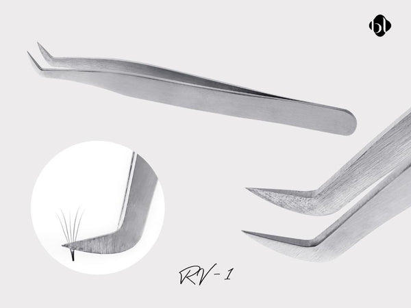Tweezers For Russian Volume Lashes by bl blink lashes and eyelash extension supplies