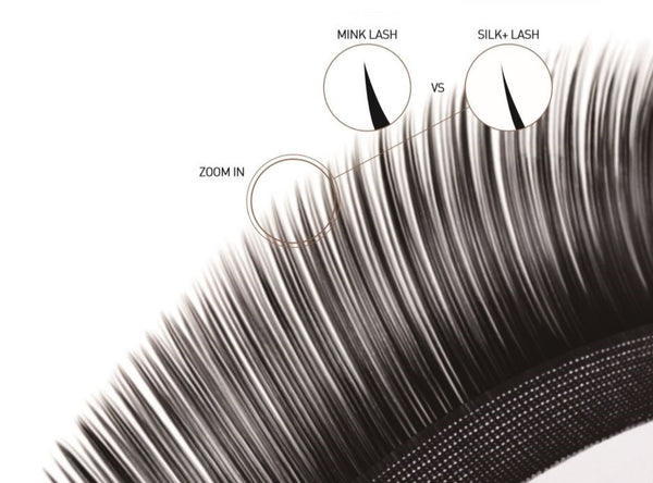 What are laser silk mink lashes - by bl blink eyelash extension supplies and wholesale