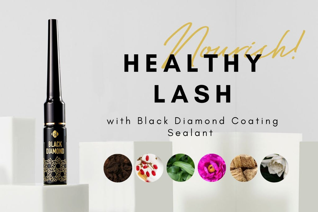 bl blink eyelash coating sealant natural ingredients