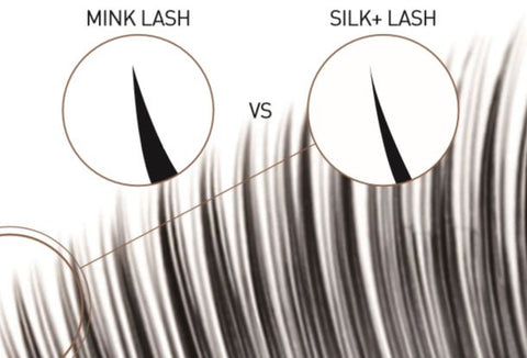 what are silk mink laser lashes by eyelash extension supplies and wholesale from bl blink lashes