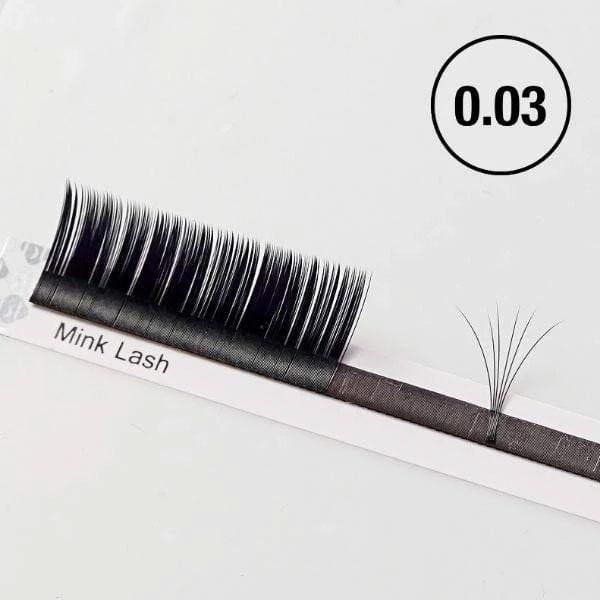 Blink BL Lashes Classic Mink Lashes 0.03 | Eyelash Extension Supplies from South Korea