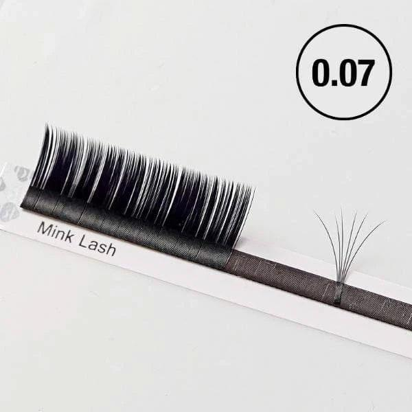 Blink BL Lashes Classic Mink Lashes 0.07 | Eyelash Extension Supplies from South Korea