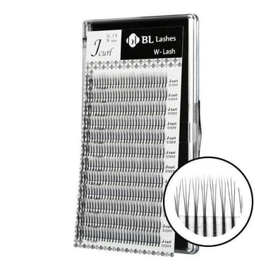 Blink BL Lashes Pre-made Fans Lash Extensions 0.15