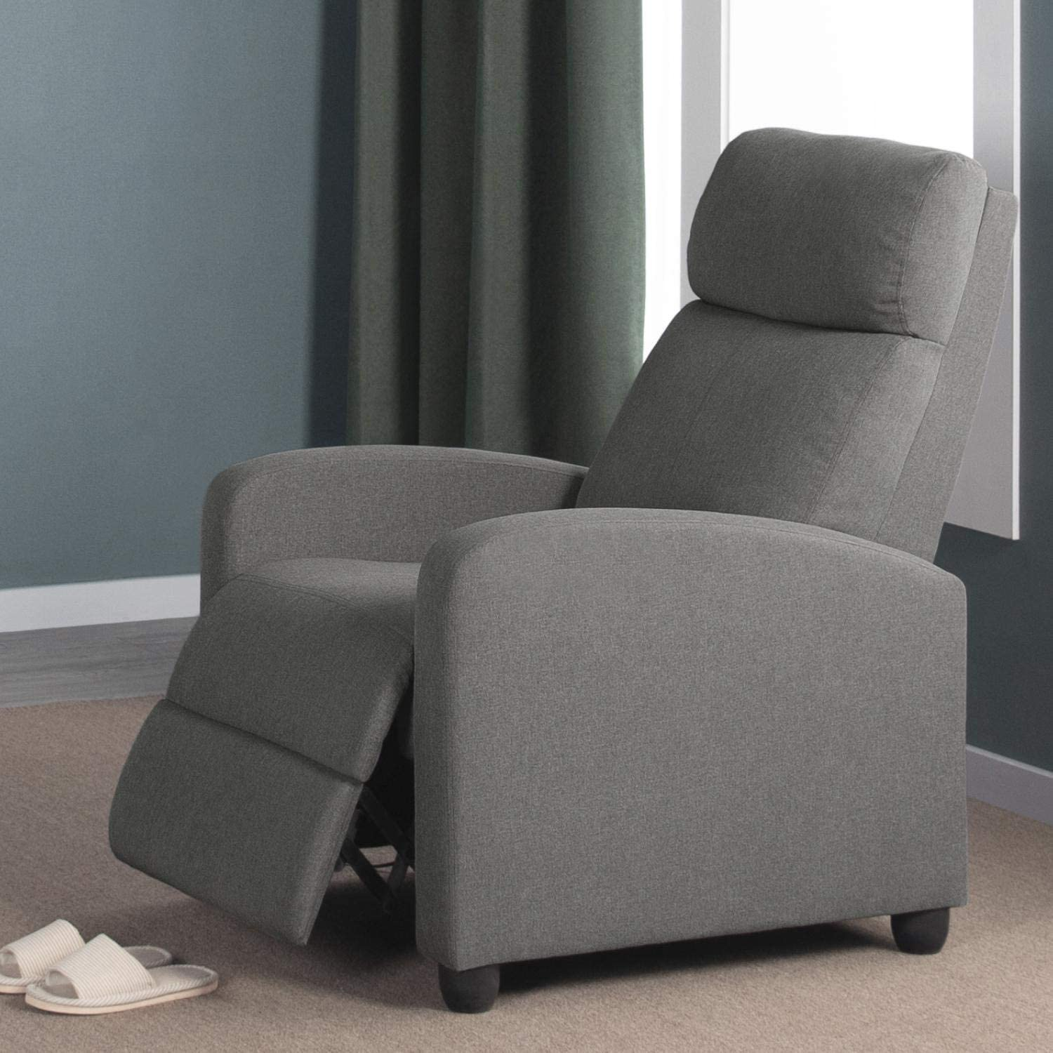 Recliner chair as a lash extension bed