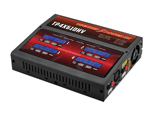 Thunder Power RC QUAD 4 X 100W AC/DC CHARGER (TP4X610HV)
