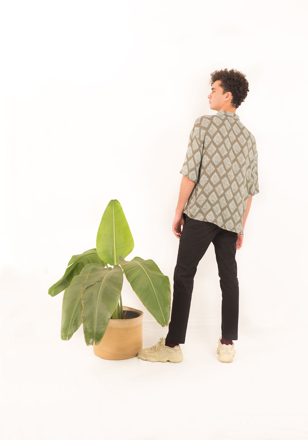 RELAXED FIT BOWLING SHIRT