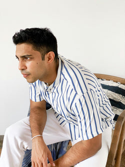 Short Sleeved striped shirt