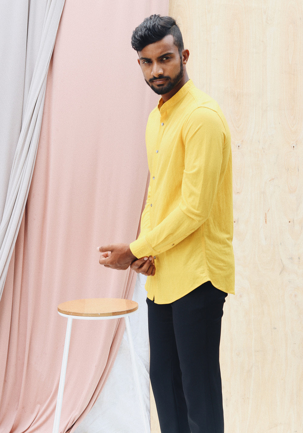 Relaxed fit long sleeve shirt