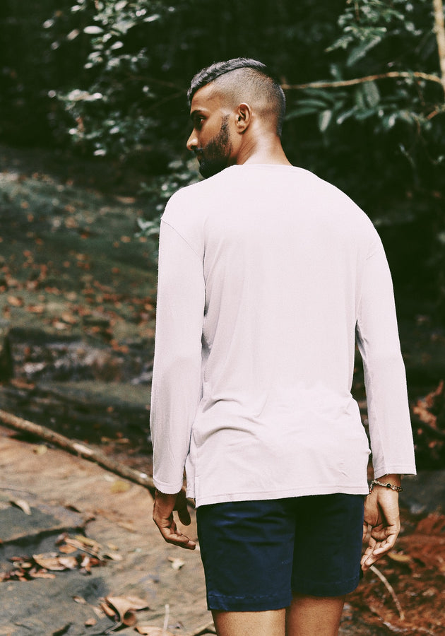 Long  Sleeved Relaxed Fit  T-Shirt