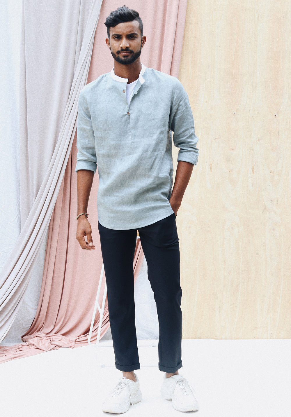 Round Neck Relaxed fit shirt