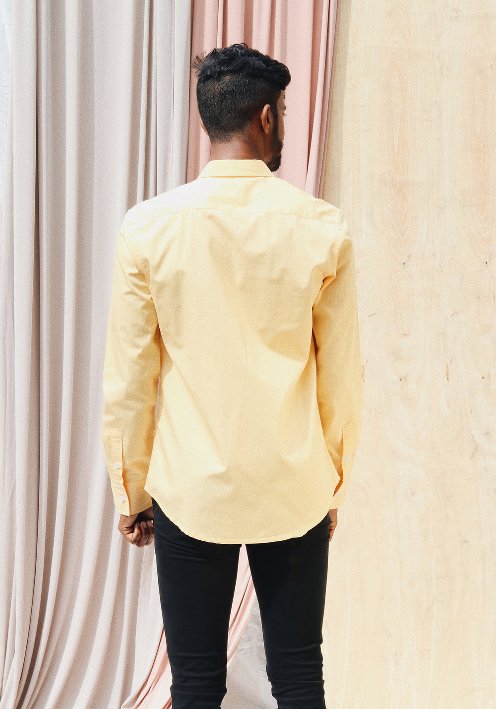 Longed Sleeved Shirt with Regular collar