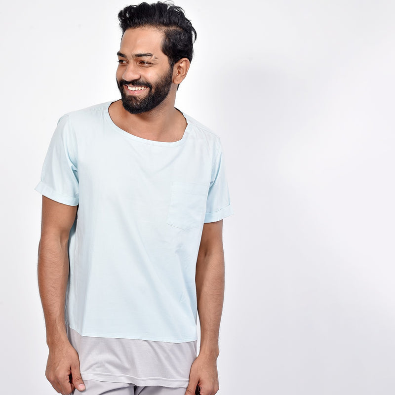 Short Sleeved Round Neck T- Shirt