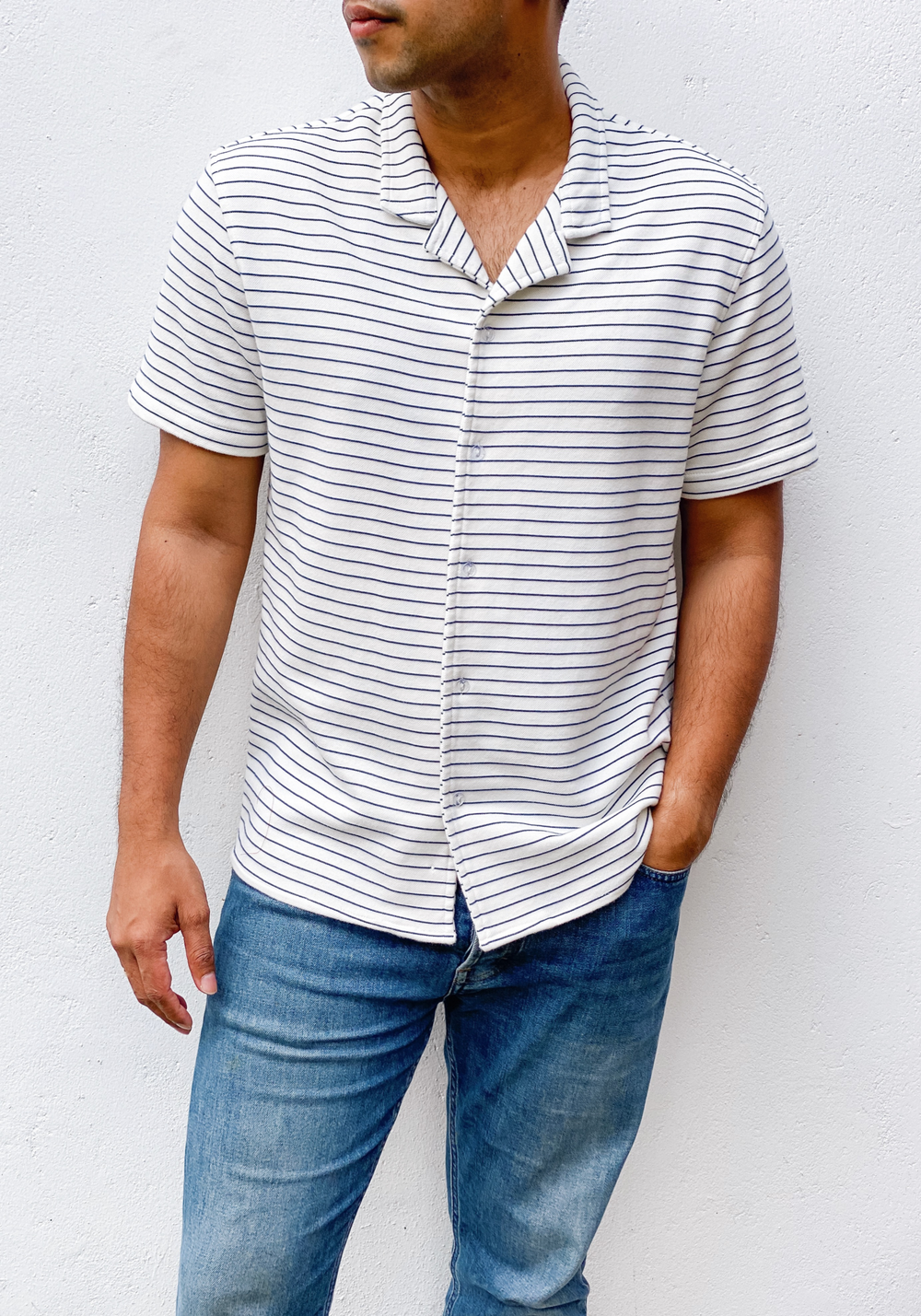 Short Sleeve camp collar shirt