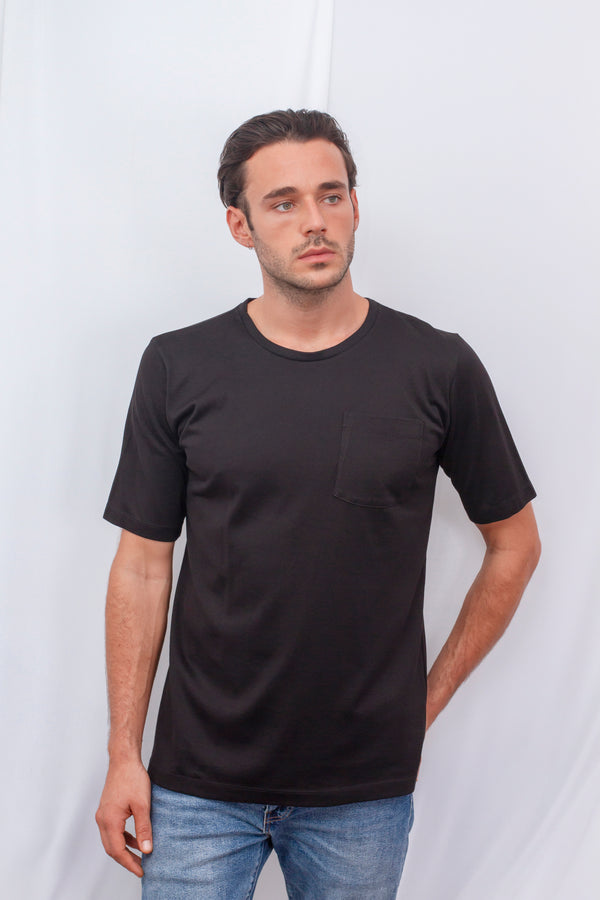 Over sized Short Sleeved T-Shirt With Pocket Detail