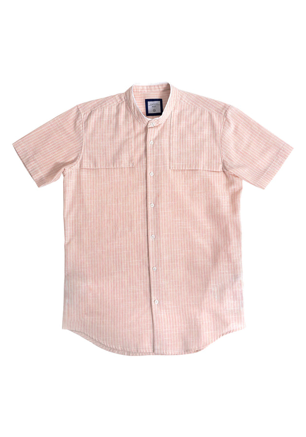 SHORT SLEEVED SHIRT WITH FLAPS