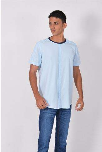 Short Sleeve Round Neck Shirt
