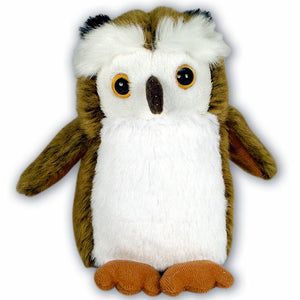 13cm Owl Cuddly Soft Plush Woodland Toy