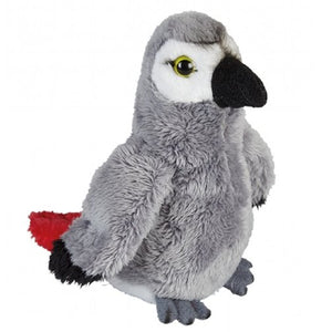 15 cm Grey Parrot Plush Cuddly Soft Toy suitable for all ages