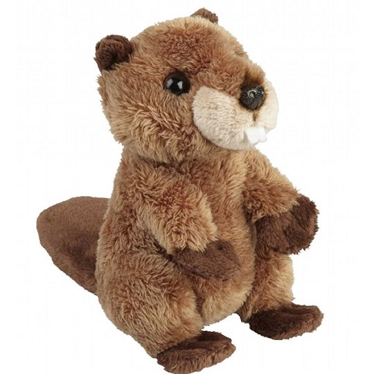 15cm Beaver Cuddly Plush Woodland Soft Toy