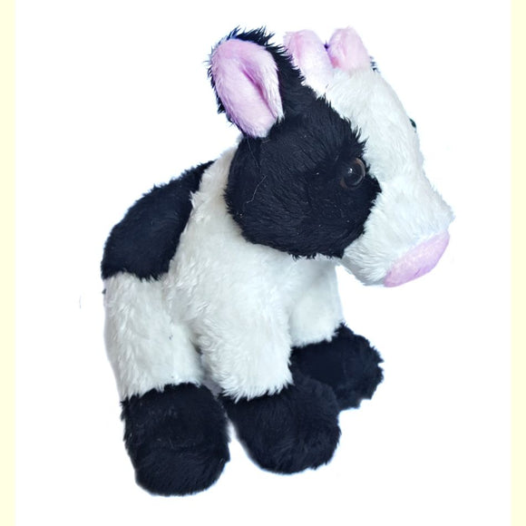 13cm Cow Cuddly Plush Farm Soft Toy suitable for all ages