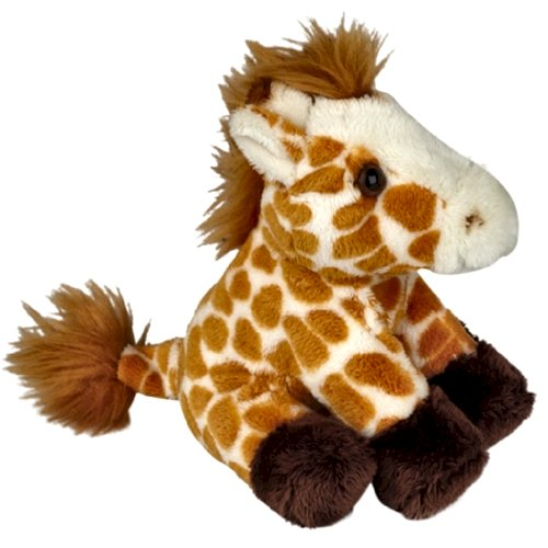 15cm Giraffe cuddly plush toy suitable for all ages