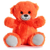 Bright Orange 21cm Teddy Bear Perfect for Teddy Bear Picnics, schools, gifts, party bags and treats
