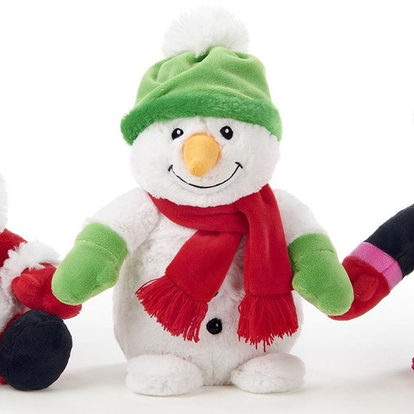 30cm Snowman Christmas Cuddly Plush Decoration Gift Toy