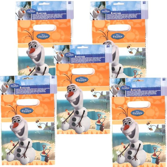 A Pack of 30 Olaf Summer Party, party Favor Bags