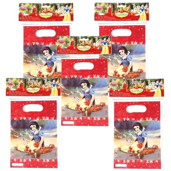 A Pack of 30 Snow White and the Severn Dwarfs Party Favor Bags