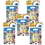 A Pack of 30 Sponge Bob Square Pants Party Favor Bags