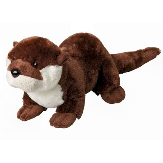 This Otter cuddly soft toy measures 30 cm and is suitable for all ages.  CE tested and certified and made from high quality materials delivering you a superb product that will be cherished for years.