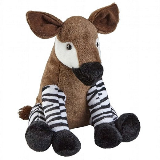 30cm Sitting Okapi Cuddly Plush Toy