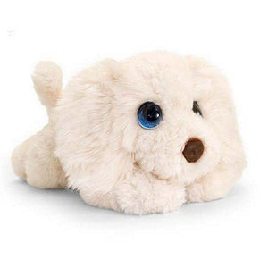 Labradoodle cuddly soft toy dog