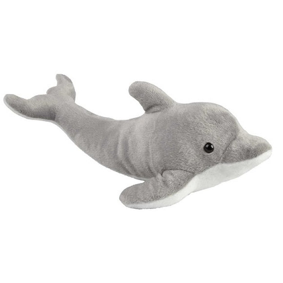 This incredibly soft and huggable Grey Dolphin cuddly plush toy measures 45 cm and is suitable for all ages.  CE tested and certified and made from high quality materials delivering you a superb product that will be cherished for years