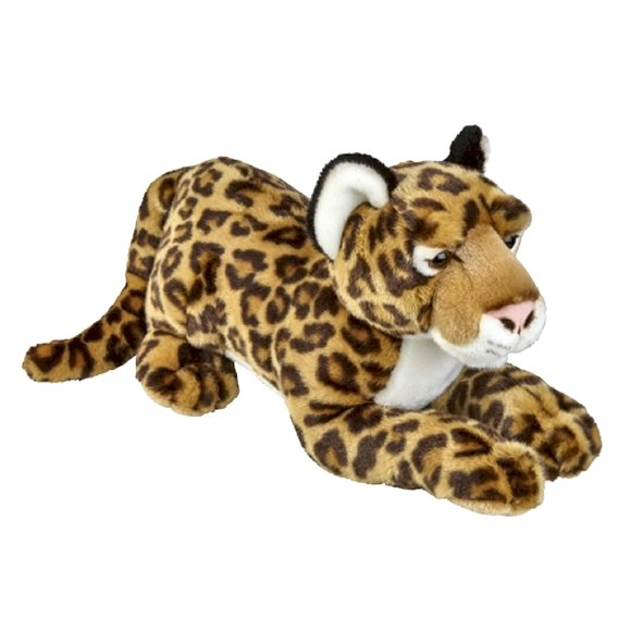 Large Jaguar Cuddly Soft PLush Toy