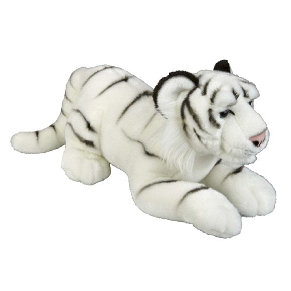 Large White Tiger Cuddly Soft Toy